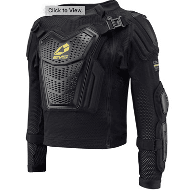 Kids dirt bike body armor