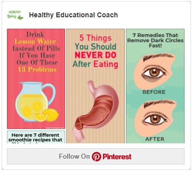 Healthy Educational Coach Pinterest