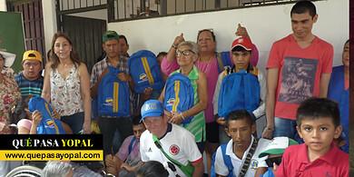 Photo of Entrega de kits escolares a los estudiantes con discapacidad de Morichal