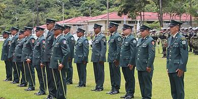 Photo of Ascendieron diecisiete suboficiales del Ejército Nacional