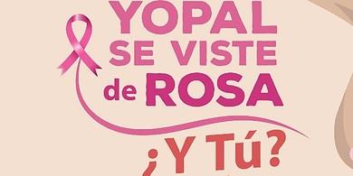 Photo of Yopal viste de rosa, en conmemoración del Día Mundial contra el Cáncer de Mama