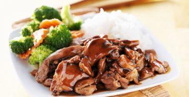 Pollo Teriyaki receta fácil