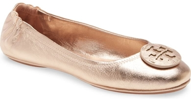 Best ballet flats - Tory Burch 'Minnie' travel ballet flats | 40plusstyle.com