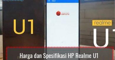 Harga dan Spesifikasi HP Realme U1