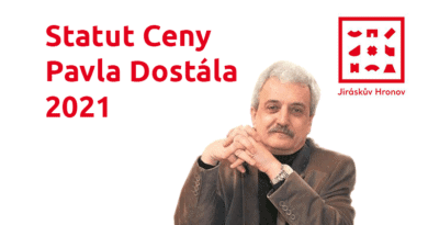 Statut Ceny Pavla Dostála 2021