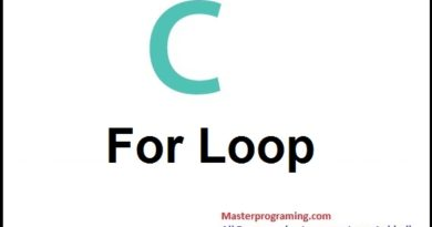 For loop statement in c in Hindi