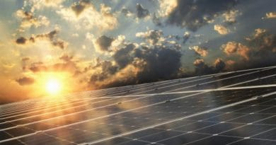 solar panels and sun| Top tips for green living