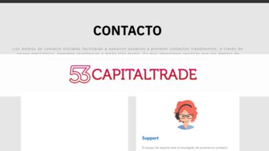 Photo of Revisión de 53 Capital Trade – ¿Es una Estafa o es seguro? Opiniones