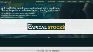 Photo of Revisión The Capital Stock – ¿Es una Estafa o es seguro? Opiniones