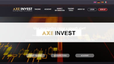 Photo of Revisión AxeInvest – ¿Es una Estafa o es seguro? Opiniones