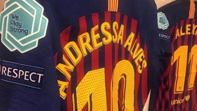 Andressa Alves Champions League feminino