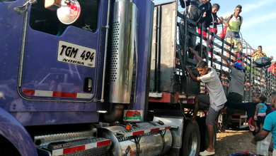 Photo of Sancionado conductor de tracto Camión con migrantes venezolanos