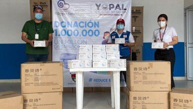 Photo of La Administración Municipal entregó 30.000 tapabocas a Organismos de Socorro