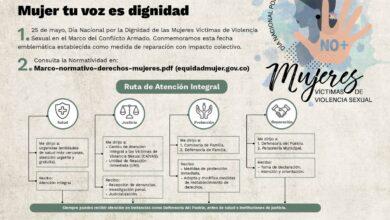 Photo of Casanare conmemora el Día Nacional de la Dignificación de Víctimas de Violencia Sexual