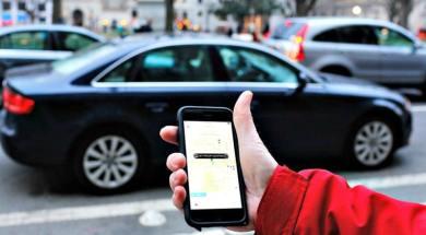 Uber rideshare
