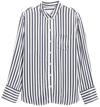stylish clothes including striped shirts | 40plusstyle.com