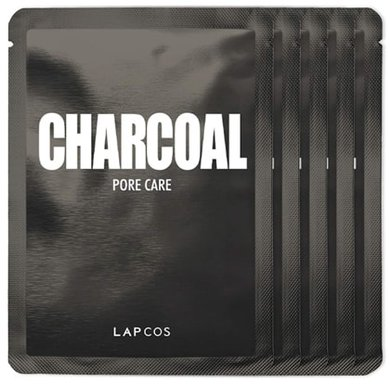 LAPCOS Charcoal Sheet Mask | 40plusstyle.com