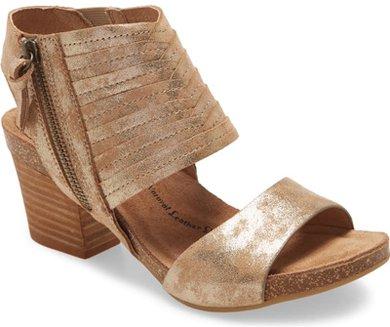 Söfft 'Milan II' block heel sandal | 40plusstyle.com