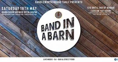 Saddleworth Round Table Band in a Barn '19, Exclusive Readers Competition