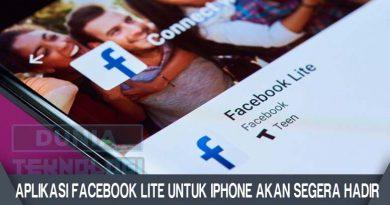 Aplikasi Facebook Lite Untuk iPhone Akan Segera Hadir