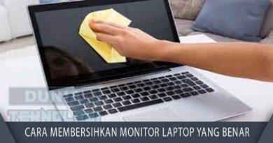 Cara Membersihkan Monitor Laptop yang Benar