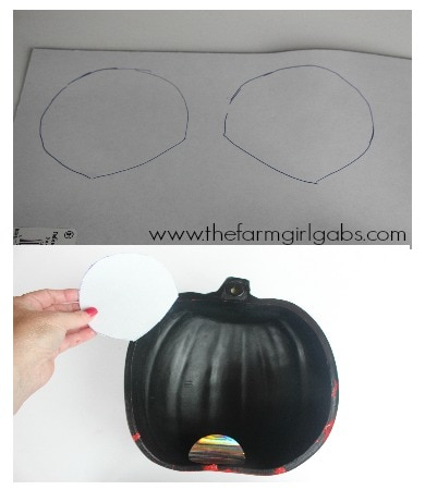 Mickey Mouse Pumpkin Wall Art Step3