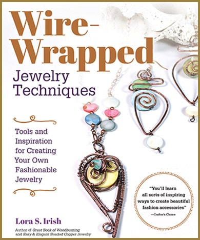 Wire Wrapped Copper Jewelry Book