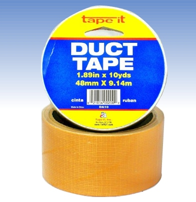 Orange Duct Tape, 2 Inch x 10 Yard