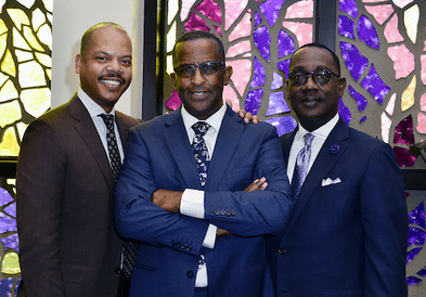 Gospel AM 1490 WMBM and Visionary Bishop Victor T. Curry Kick-Off Announcement of the 25th Anniversary Celebration with Oscar Joyner, Kenneth A. Duke, Larry R. Handfield