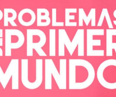 Logo de problemas del primer mundo