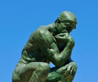 El Pensador de Rodin en Pais - 2010