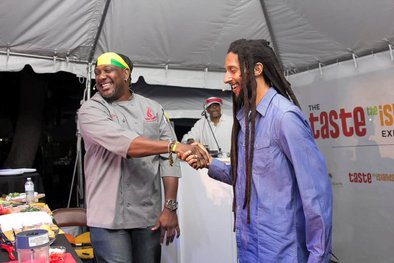 Taste the Islands Experience Wraps Phenomenal Third Year with Chef Irie Spice and Julian Marley