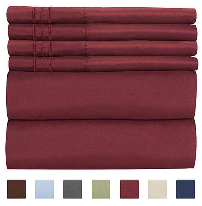 9. King Size Sheet Set - 6 Piece Set