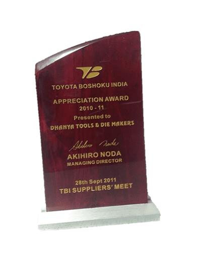 Dhanya award