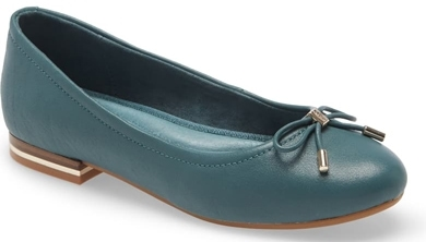 Kenneth Cole New York 'Balace' ballet flat | 40plusstyle.com