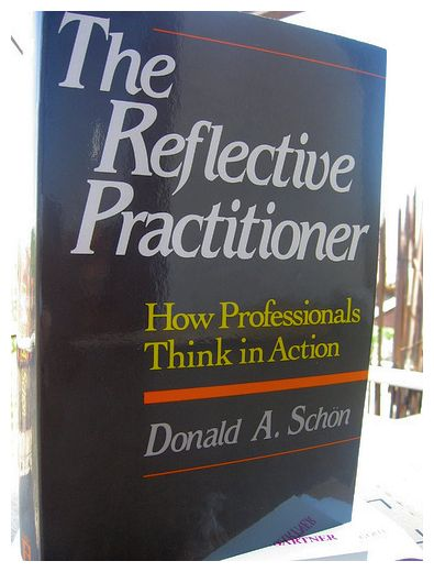 The picture of The Reflective Practitioner is by .nele and is reproduced here under a Creative Commons licence (Attribution-Non-Commercial-Share Alike 2.0 Generic) - flickr snenad/3644579768/).