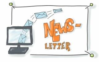 Der Weg zum Newsletter