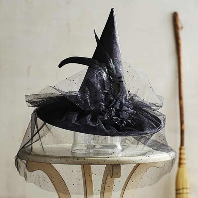 Shimmery Witch Hat