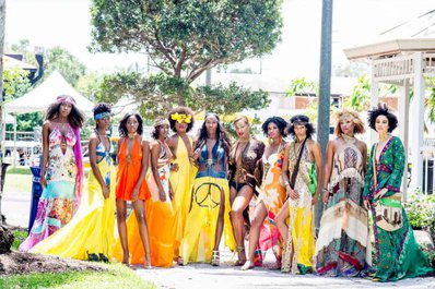 Taste the Islands Experience Wraps Phenomenal Third Year with Designer Tanya Marie with models