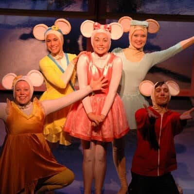 From the origional 2010 Production of Vital Theatre Company's Angelina Ballerina The Musical