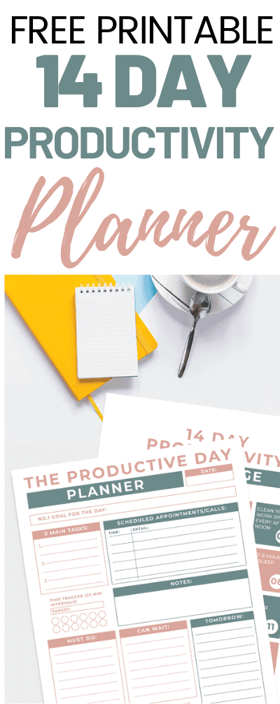 Productivity Daily Planner