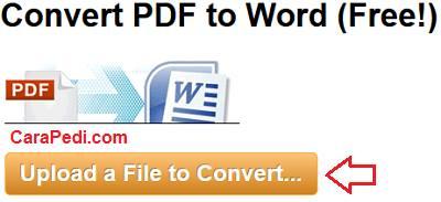 cara, rubah, pdf, word