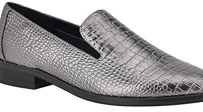 Nine West croc embossed loafer | 40plusstyle.com