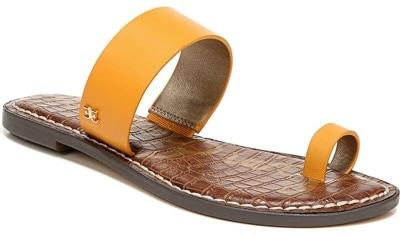 best women's sandals - Sam Edelman 'Gorgene' flat sandal | 40plusstyle.com