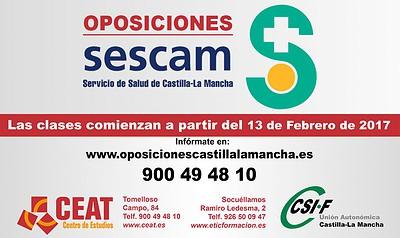 Oposiciones del SESCAM 2017