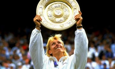 Martina Navratilova remporte Wimbledon 1990