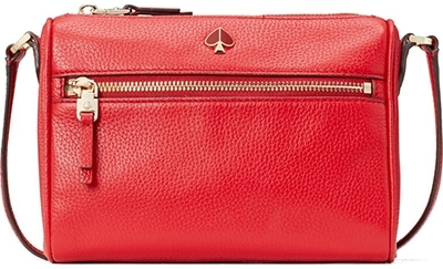 Kate Spade New York leather crossbody bag | 40plusstyle.com