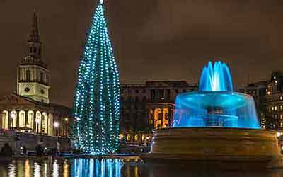 Christmas markets and winter wonderland in London
