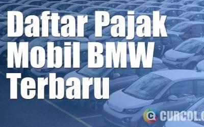 Daftar Pajak Mobil BMW Terbaru