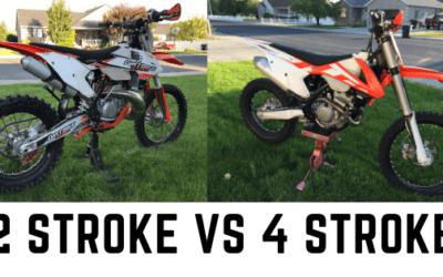 2 Stroke vs 4 Stroke Dirt Bikes